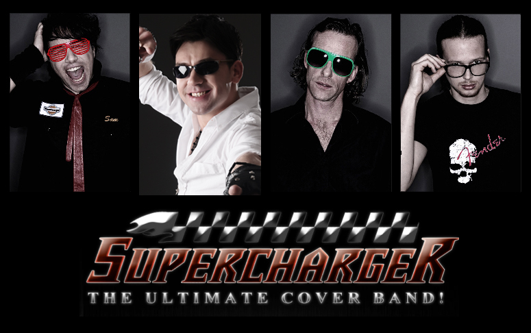 Supercharger cover band